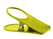 Gimex Glass Holder and Table Cloth Clamp In One Lime 915512