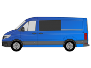 VW Crafter/TGE 2017 ON O/S/F Fixed W248