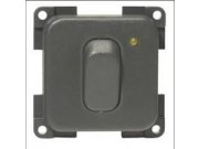 CBE Grey Push Button Dimmer Switch 270161