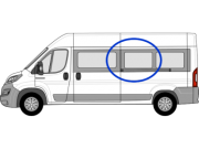 Relay/Ducato/Boxer N/S/M Window in Privacy Tint LWB W039