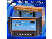 Victron BlueSolar PWM-Light Charge Controller 12/24V - 20A SCC010020020